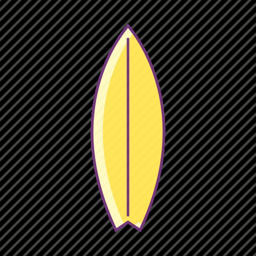 beach, sea, sport, summer, surfing, surfing board, water icon