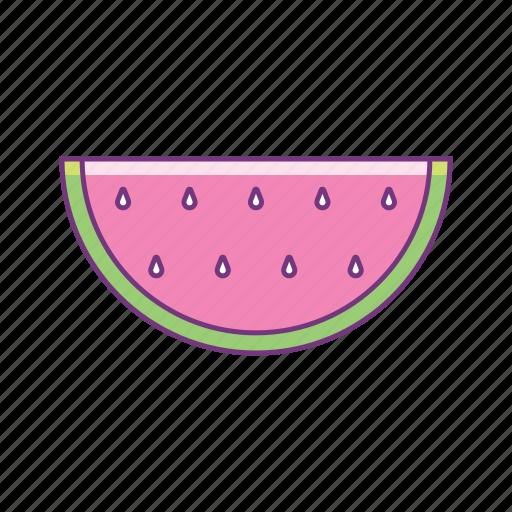 beach, fresh, fruit, holiday, summer, sunny, watermelon icon