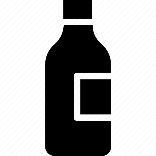 alcohol, bottle, champagne, water bottle, wine icon