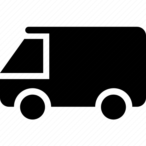 delivery, lorry, shipping van, truck, vehicle icon