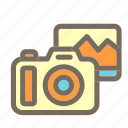 camera, photo, summer, vacation icon