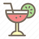 drink, juice, lemon, summer, vacation icon