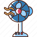 fan, air, cooler, electric, home, cooling, summer