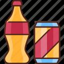 soda, drink, beverage, juice, bottle, can, fresh