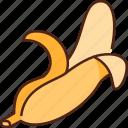 banana, food, fruit, healthy, fresh, diet, organic