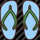 flip flops, footwear, slippers, sandals, slipper, summer, beach