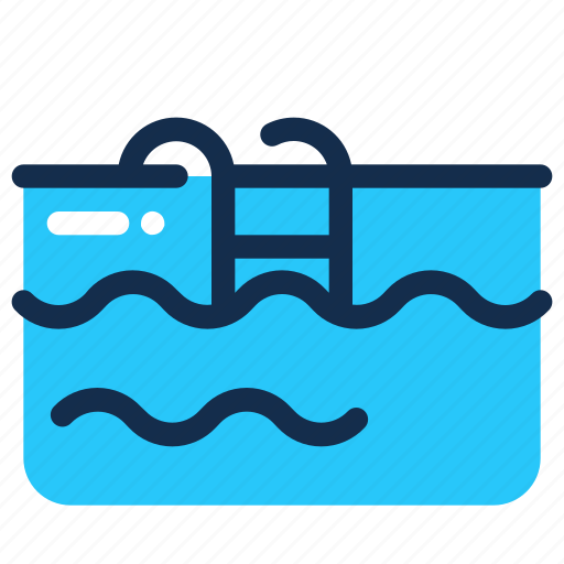 Holiday, pool, summer, swimming, water icon - Download on Iconfinder