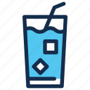 drink, fresh, ice, juice, summer icon