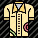 casual, colorful, fashion, menswear, shirt icon