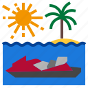 boat, sea, vacation, watercraft