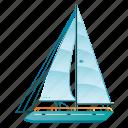 boat, holiday, sailboat, sailing, ship, summer, yacht