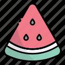 watermelon, fruit, food, healthy, summer, fresh