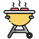 barbecue, bbq, grill, grilled, meat, food