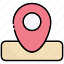 placeholder, location, map, pin, navigation, pointer