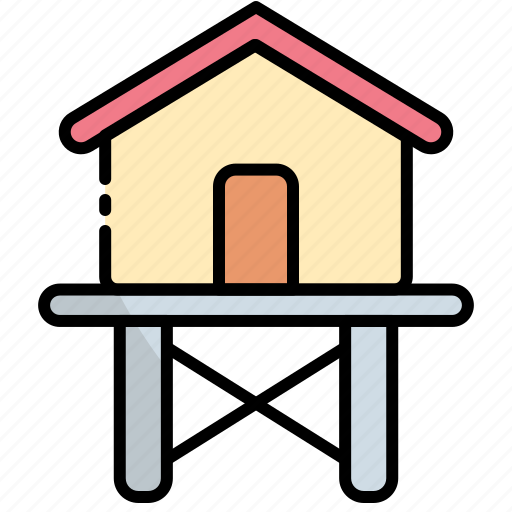 Cabin, house, home, cottage, building, hut icon - Download on Iconfinder