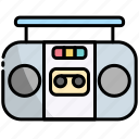 speakers, boombox, music, stereo, speaker, sound, player