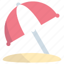 umbrella, beach, weather, protection, summer
