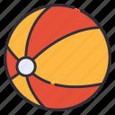ball, beach, volleyball icon