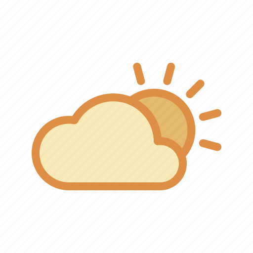 climate, cloudy, weather icon