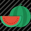 fruit, melon, water