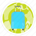 bag, luggage, suitcase, suitecase icon