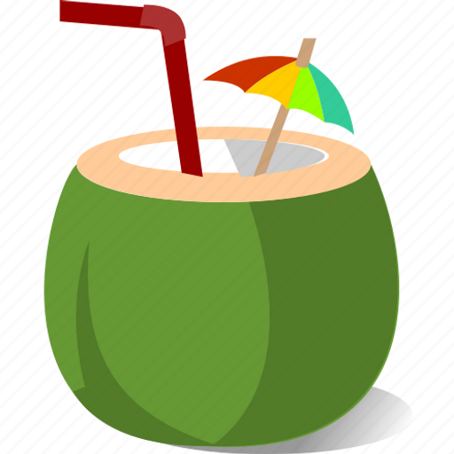 Chill, coconut, juice, relax, summer, tropical icon - Download on Iconfinder