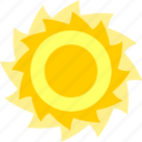 hot, noon, summer, sun, sunny, sunshine icon