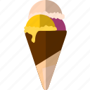 cold, cool, cream, ice, summer icon