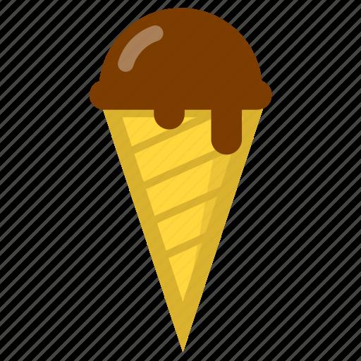 cold, cream, ice, ice cream icon