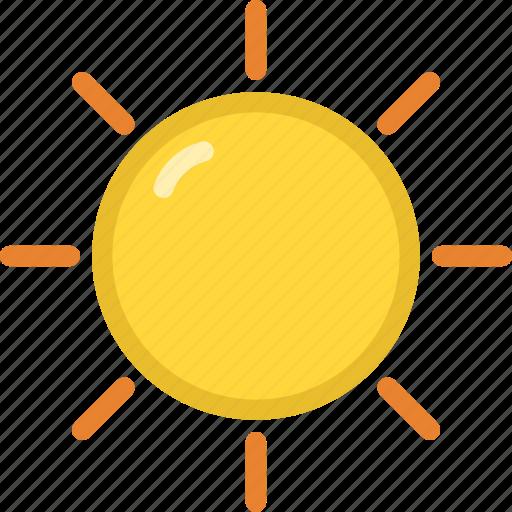 beach, summer, sun icon