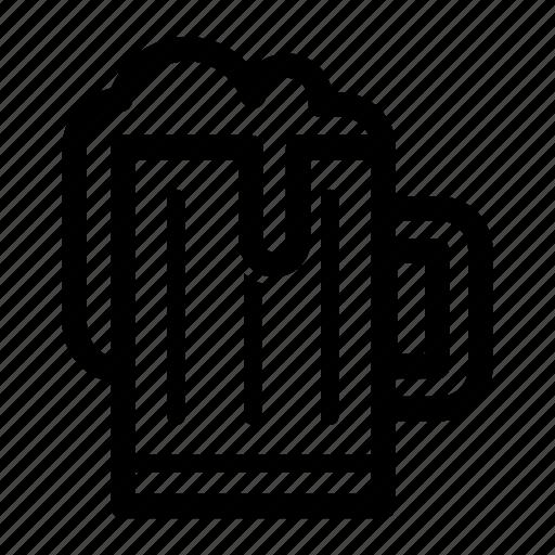 Alcohol, bar, beer, beverage, drink, mug icon - Download on Iconfinder