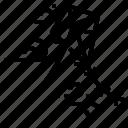 kite, wind icon