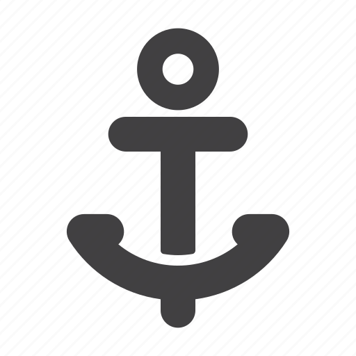 anchor, beach, summer, travel, vacation icon