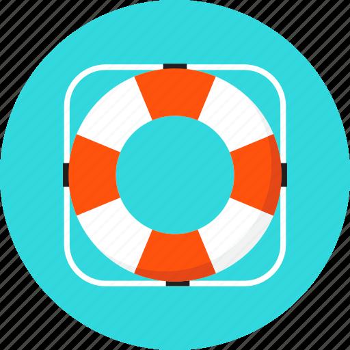 beach, buoy, life, lifebuoy, sea, summer, travel icon
