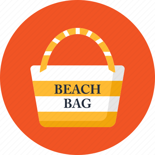 bag, beach, handbag, pack, purse, summer, vacation icon