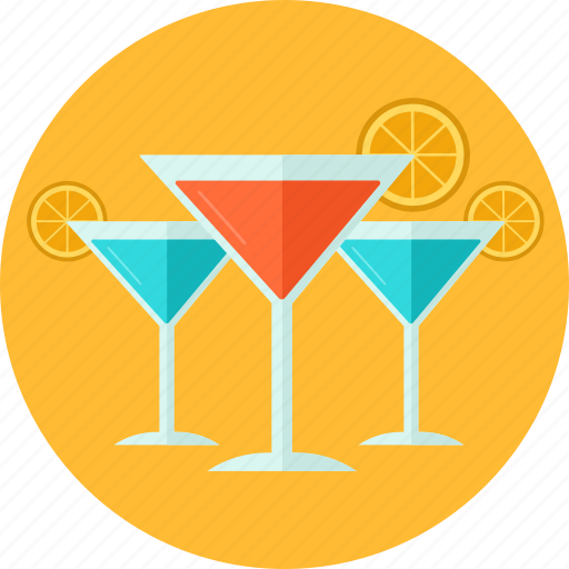 Alcohol, cocktail, drink, glass, juice, summer, vacation icon - Download on Iconfinder