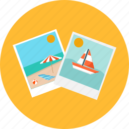 landscape, memories, photo, pic, picture, summer, vacation icon