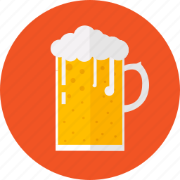 alcohol, ale, beer, drink, mug, pub, stout icon