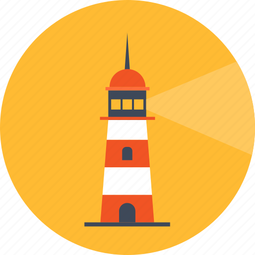 beacon, lighthouse, pharos, sea, tower icon