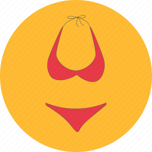 beach, costume, female, suit, swim, swimming, swimsuit icon