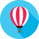 air, air balloon, balloon, sky, summer, transport, travel icon