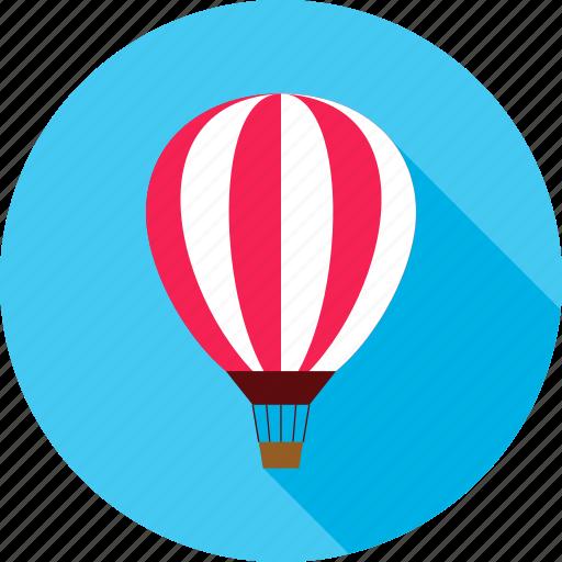 air, air balloon, balloon, sky, summer, transport, travel icon