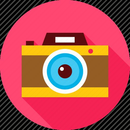cam, camera, journey, photo, photography, retro, travel icon