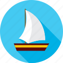 boat, ocean, sea, ship, travel, vacation, vessel icon