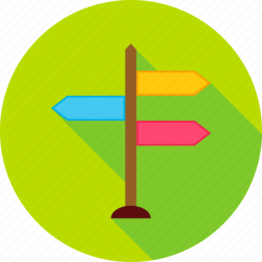 destination, direction, journey, location, navigation, sign, travel icon