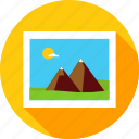 camera, landscape, mountain, nature, photo, photography, picture icon