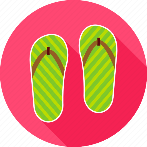 fashion, flip, flip flop, flop, slippers, sneakers, summer icon