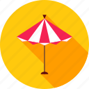 beach, parasol, shadow, summer, summertime, sun, umbrella icon