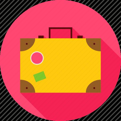 bag, case, suitcase, summer, travel, vacation, valise icon