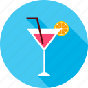 alcohol, beverage, cocktail, drink, glass, party, summer icon
